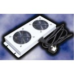 Fan 2Way With UK Plug And Cord Length 2m - RAL9005