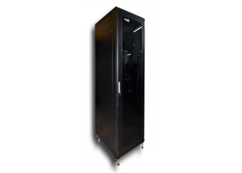 Cabinet 42U W800 D800 With Back Door S/bolted - RAL7021