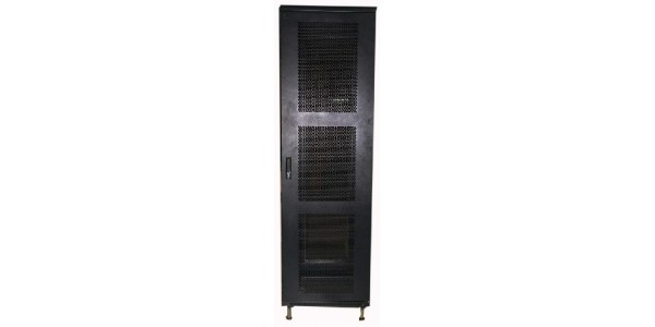 Cabinet 42U W800 D800 Without Front Glass Door - RAL7021