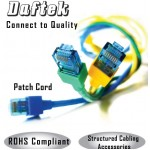Patch Cord Booted CAT6 1m - Blue- DK