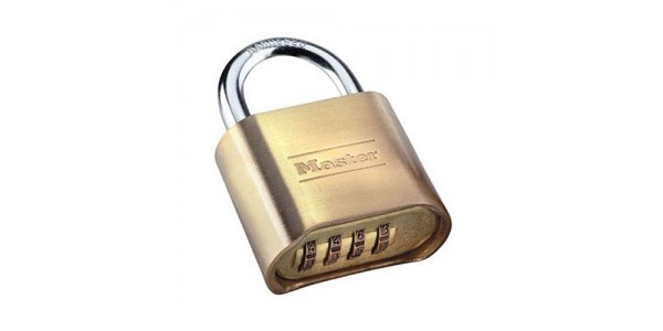 "Masterlock 175-D Combination Lock, 1"" Shackle"