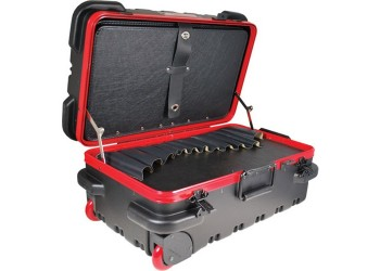"Chicago Case Company RMSLCART Mil-Style Slim Line Rugged Tool Case w/ Pallets, 20-3/4 x 12-1/4 x 11""  Built to Withstand Harsh Conditions"