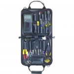 Jensen Tools JTK-10GY General Electronic Service Kit in Gray Cordura Case