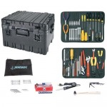Jensen Tools JTK-17RLC Kit in Roto-Rugged™ Wheeled Recessed Latch Case
