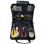 Jensen Tools JTK-23BLK Multi-Fastener Tool Kit in Black Cordura Case