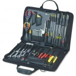 Jensen Tools JTK-32Z Electronic Equipment Installation & Service Kit in Single Black Cordura Case