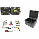 Jensen Tools JTK-53WD Deluxe Communications Kit in Roto-Rugged wheeled case