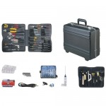 Jensen Tools JTK-77DP Deluxe Field Service Kit in Lightweight Deluxe Poly Case