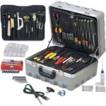 Jensen Tools JTK-77DST Deluxe Field Service Kit In Gray Super Tough Case