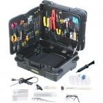 "Jensen Tools JTK-87TTD Kit in 12"" Tough Tote Horizontal Wheeled Case"