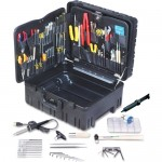 "Jensen Tools JTK-87WW Kit in 8"" Roto-Rugged™ Wheeled Case"
