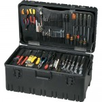 Jensen Tools JTK-93LW Inch Electro-Mech. Service Kit in Roto-Rugged™ Wheeled Case