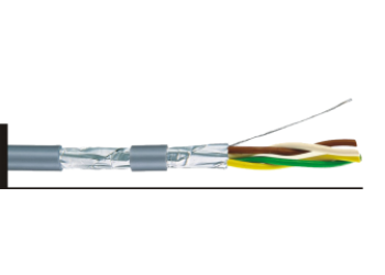 Cable Control 2C 1sqmm LIY(ST)Y/18AWG SCN 305m/Rll