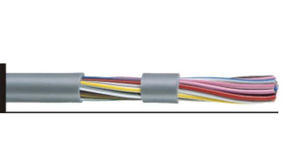 Cable Control 2C 2.5sqmm LIYY UNSCN PVC Sheathed -305m/Rol