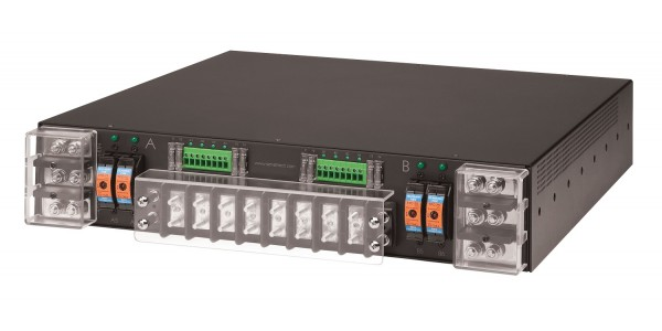 -48V Switched PDU 2x100A Inputs / 8x10A Outputs + 4x70A