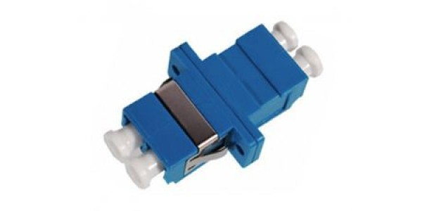 FO Adapter LC-LC Dpx SM - Flange Blue