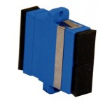 FO Adapter SC-SC Dpx SM Screw Type - Blue