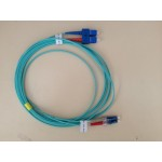 FO Patch Cord 50/125 Dpx OM3 2.0mm LC/UPC-SC/UPC-3m LSOH