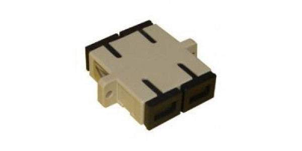 FO Adapter SC-SC Duplex MM - Beige