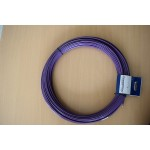 Fish Tape Steel Wire 4mm 50M Purple PVC Without Cage
